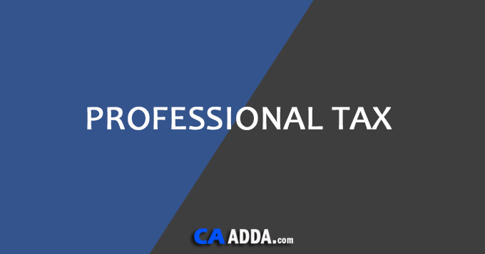 Online Professional Tax Registration