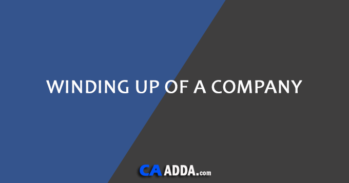 Winding Up of a Company