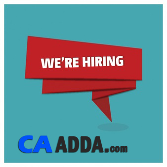 Job opportunity in CA Adda